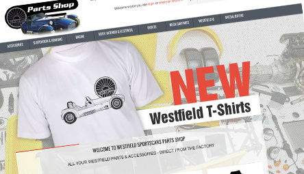 Westfield eCommerce Website Design