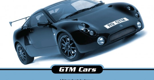 GTM Cars Brochure Design