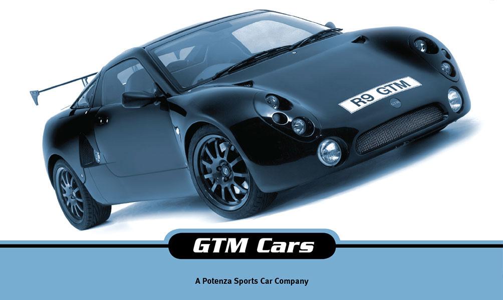 GTM Cars Brochure Design