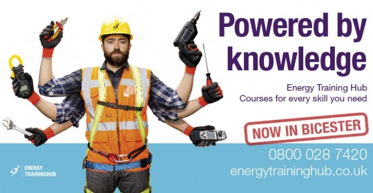 billboard advert design - energy training hub