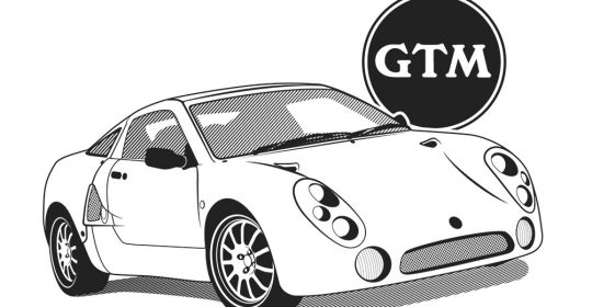 Vector Illustration - GTM Libra Sports Car