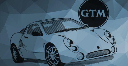 Vector Illustration - GTM Libra Sports Car