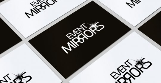 Logo Design - Event Mirrors