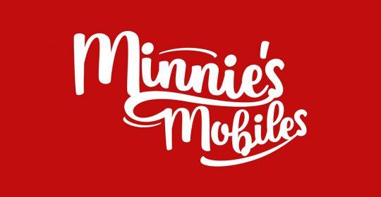 Minnies Mobiles Logo Design