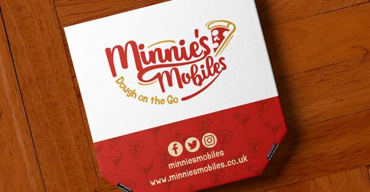 Minnies Mobiles Logo Design